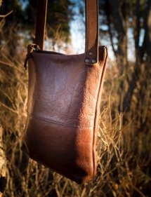 Purse in sunlight